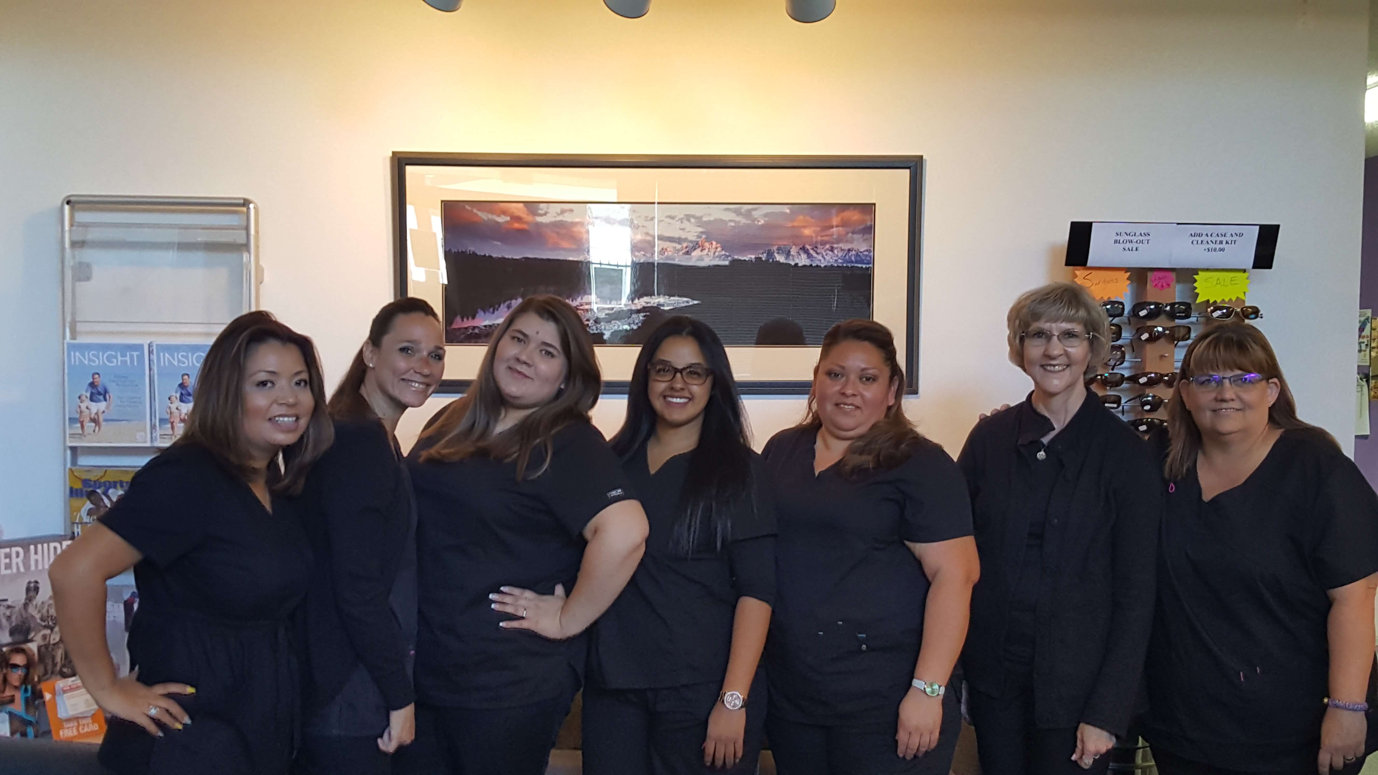 clear vision eye center staff photo